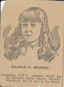 Harold Gordon Henson Lethbridge